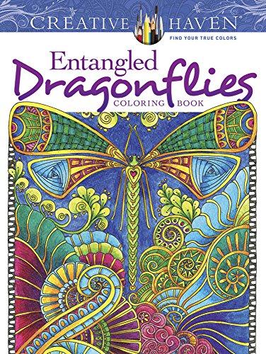 9780486805689: Creative Haven Entangled Dragonflies Coloring Book (Dover Publications Inc)