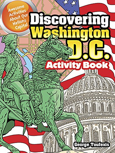 9780486807195: Discovering Washington, D.C. Activity Book: Awesome Activities About Our Nation's Capital