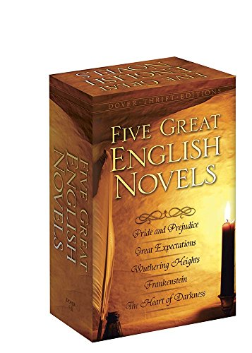 9780486807430: Five Great English Novels Boxed Set (Dover Thrift Editions)