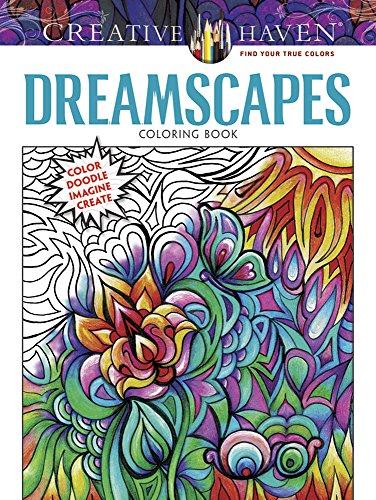 9780486808741: COSTCO Creative Haven DREAMSCAPES Coloring Book: Color Doodle Imagine Create (Creative Haven Coloring Books)