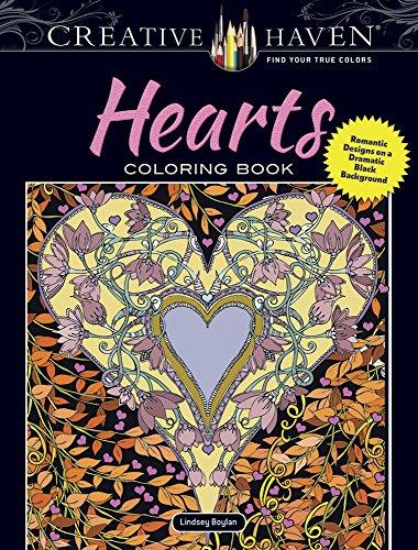 Creative Haven Hearts Coloring Book: Romantic Designs: Boylan, Lindsey