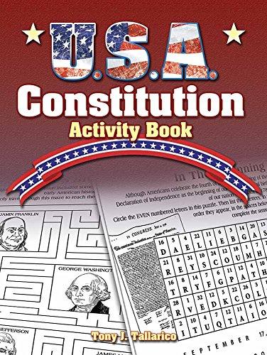 U.S.A. Constitution Activity Book (Dover Children's Activity Books)