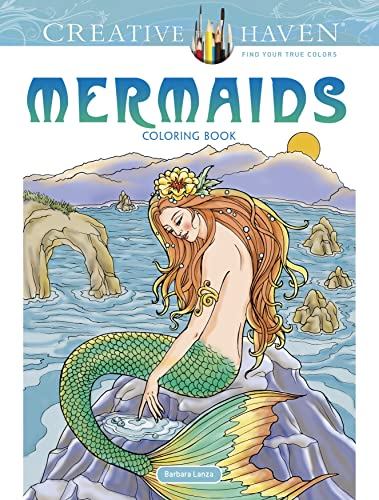 9780486809434: Creative Haven Mermaids Coloring Book (Creative Haven Colouring Books)