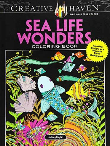 Creative Haven Sea Life Wonders Coloring Book: Lindsey Boylan