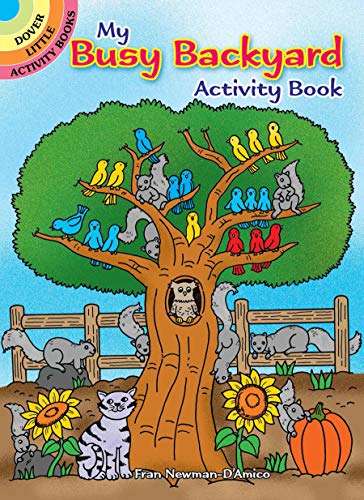 9780486810348: My Busy Backyard Activity Book (Dover Little Activity Books)