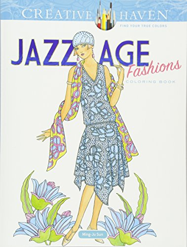 Creative Haven Jazz Age Fashions Coloring Book (Paperback)