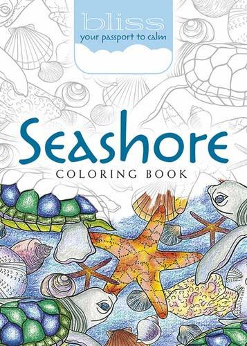 9780486810713: BLISS Seashore Coloring Book: Your Passport to Calm (Adult Coloring)