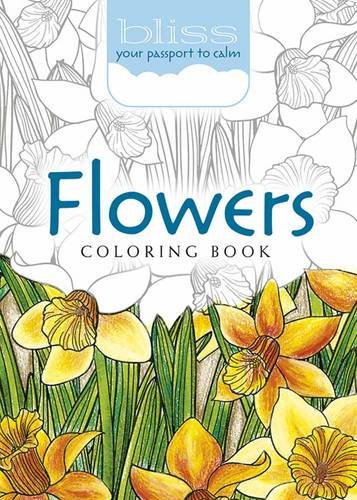 BLISS Flowers Coloring Book: Your Passport to: Lindsey Boylan, Jessica