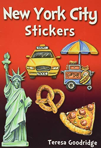 9780486810911: New York City Stickers (Dover Stickers)
