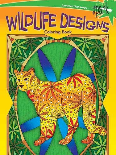 9780486810928: SPARK Wildlife Designs Coloring Book (Dover Coloring Books)