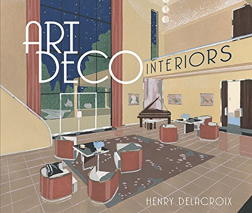9780486811215: Art Deco Interiors