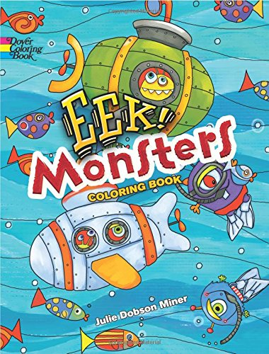 9780486814414: EEK! Monsters Coloring Book (Dover Coloring Books)