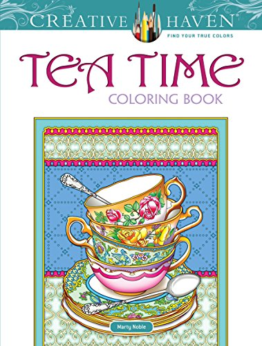 Creative Haven Teatime Coloring Book (Paperback)