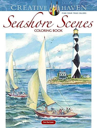9780486818009: Creative Haven Seashore Scenes Coloring Book (Creative Haven Coloring Books)