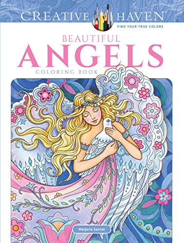 9780486818573: Creative Haven Beautiful Angels Coloring Book