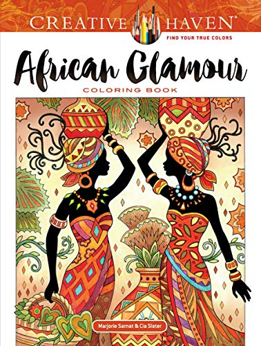 9780486821641: African Glamour Coloring Book