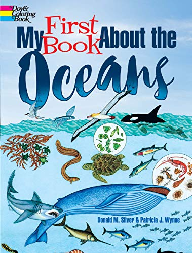 9780486821719: My First Book About the Oceans (Dover Coloring Books)