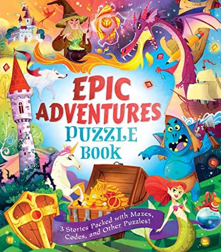 9780486828510: Epic Adventures Puzzle Book