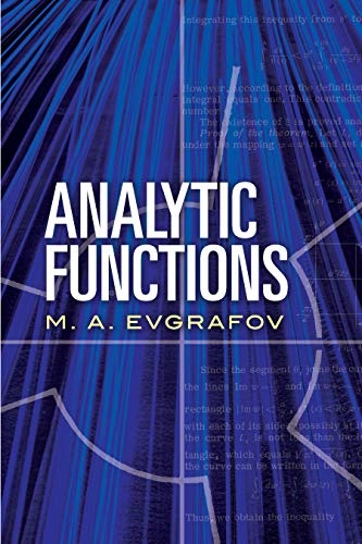 9780486837604: Analytic Functions