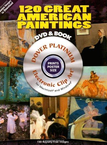 9780486990002: 120 Great American Paintings