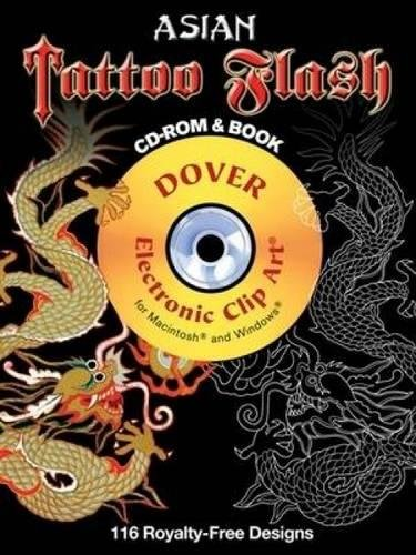 9780486990156: Asian Tattoo Flash CD-ROM and Book (Dover Electronic Clip Art)
