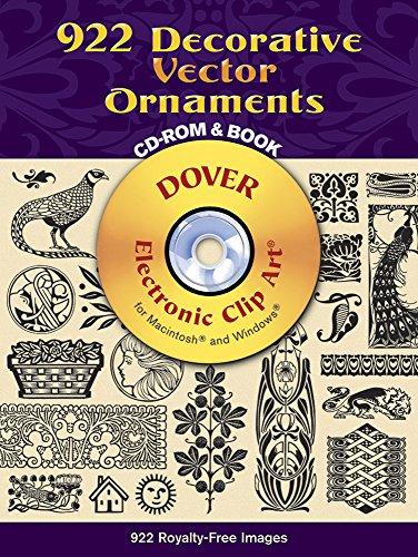 9780486990217: 922 Decorative Vector Ornaments