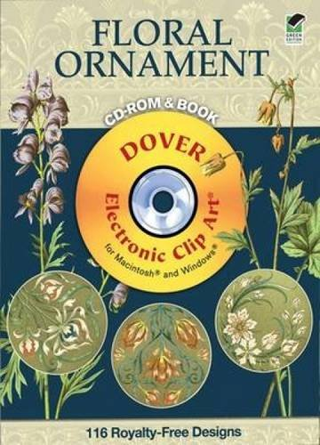 9780486990354: Plants & Flowers as Ornament CD-ROM and Book (Dover Electronic Clip Art)