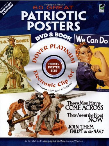 9780486990408: 60 Great Patriotic Posters Platinum DVD and Book (Dover Electronic Clip Art)