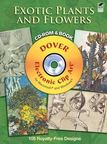 Exotic Plants and Flowers CD-ROM and Book: M. Meheut