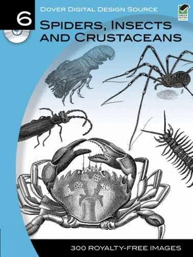 9780486990705: Dover Digital Design Source #6: Spiders, Insects and Crustaceans (Dover Electronic Clip Art)