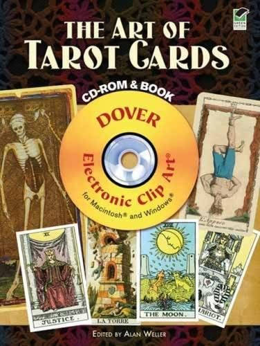 9780486990859: The Art of Tarot Cards CD-ROM and Book (Dover Electronic Clip Art)