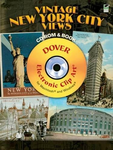 9780486990873: Vintage New York City Views CD-ROM and Book (Dover Electronic Clip Art)