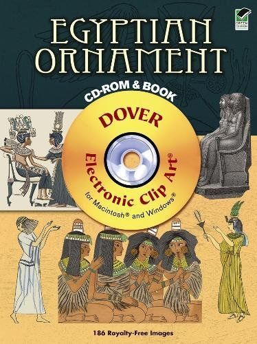 9780486990880: Egyptian Ornament CD-ROM and Book (Dover Electronic Clip Art)