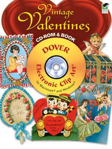 9780486991047: Vintage Valentines CD-ROM and Book (Dover Electronic Clip Art)