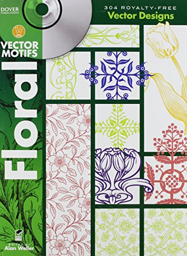 Floral Vector Motifs (Dover Electronic Clip Art): Alan Weller