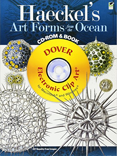 9780486991177: Haeckel's Art Forms from the Ocean CD-ROM and Book (Dover Electronic Clip Art)