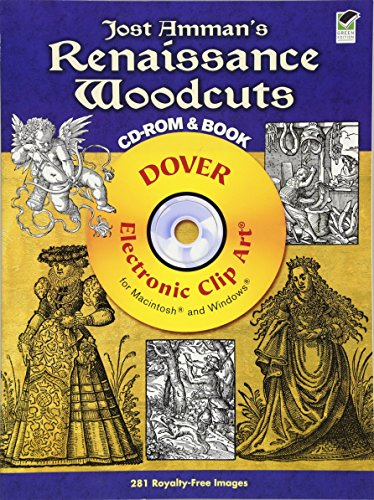 9780486991191: Jost Amman's Renaissance Woodcuts CD-ROM and Book (Dover Electronic Clip Art)