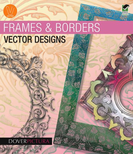Frames and Borders Vector Designs [With CDROM] (Paperback): Alan Weller