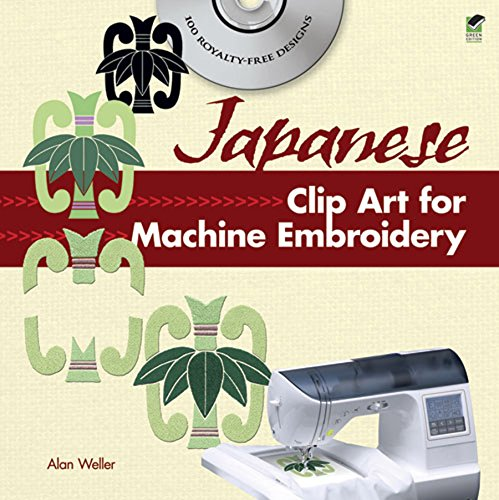 Japanese Clip Art for Machine Embroidery: Alan Weller
