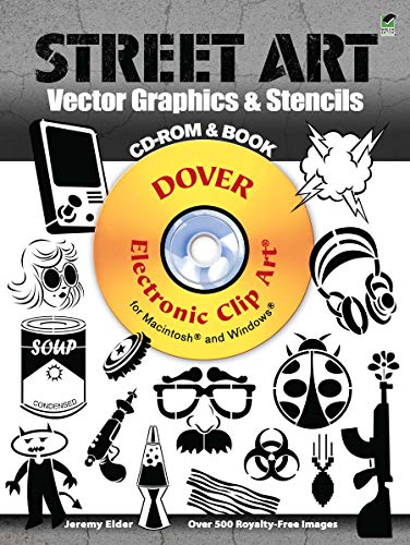 9780486991702: Street Art Vector Graphics & Stencils CD-ROM and Book (Dover Electronic Clip Art)