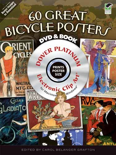 9780486991726: 60 Great Bicycle Posters CD-ROM and Book (Dover Electronic Clip Art)