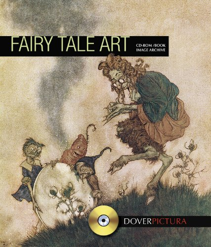 9780486991917: Fairy Tale Art (Dover Pictura Electronic Clip Art)