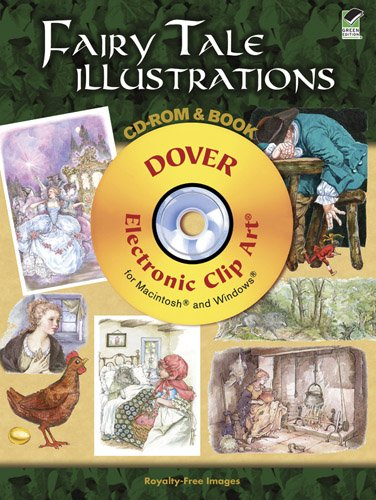 9780486992105: Fairy Tale Illustrations CD-ROM and Book (Dover Electronic Clip Art)