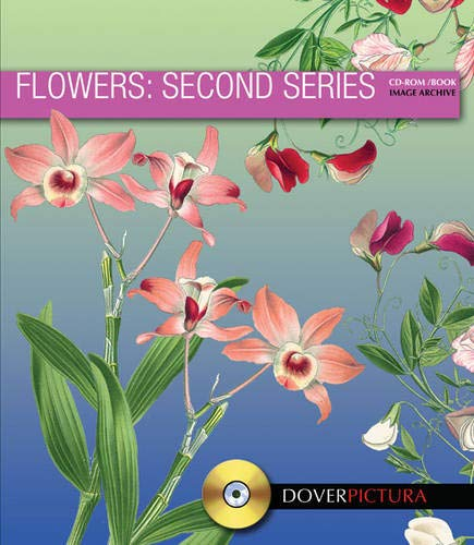 9780486992211: Flowers: Second Series (Dover Pictura Electronic Clip Art)
