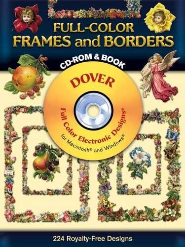 9780486995014: Full-Color Frames and Borders CD-ROM and Book (Dover Electronic Clip Art)