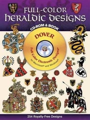 9780486995076: Full-color Heraldic Designs (Dover full-color electronic design series)