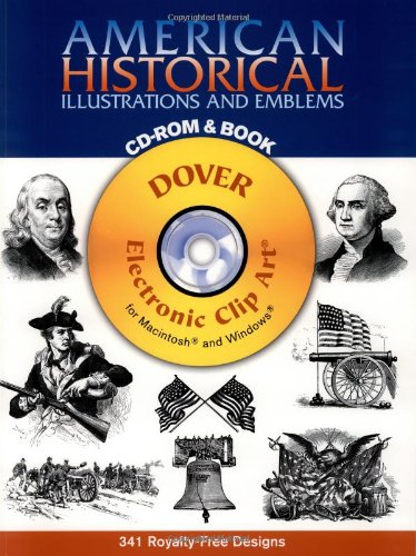 9780486995113: American Historical Illustrations and Emblems CD-ROM and Book (Dover Electronic Clip Art)