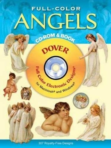 9780486995250: Full-Color Angels CD-ROM and Book (Dover Electronic Clip Art)