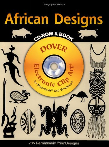 9780486995274: African Designs CD Rom and Book (Dover Pictorial Archives)