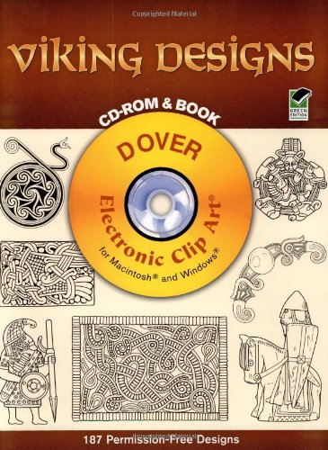 9780486995342: Viking Designs CD-ROM and Book (Dover Electronic Clip Art)
